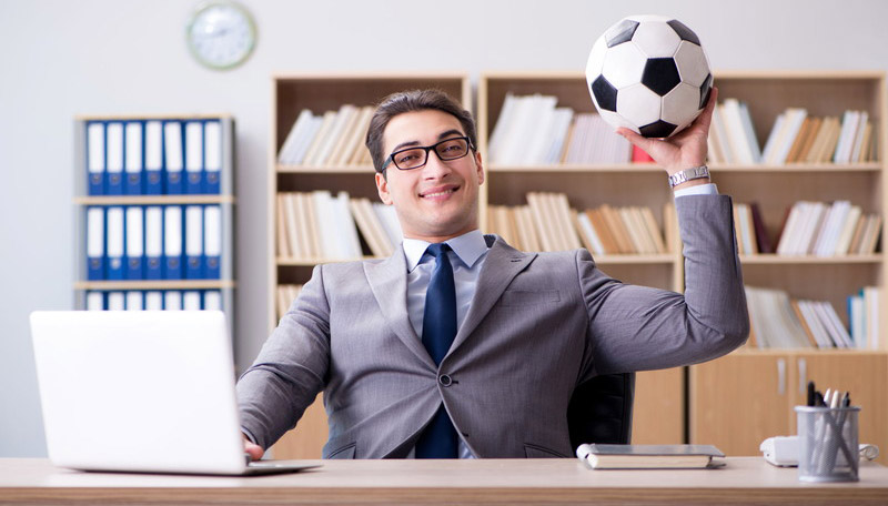 サッカーに賭ける